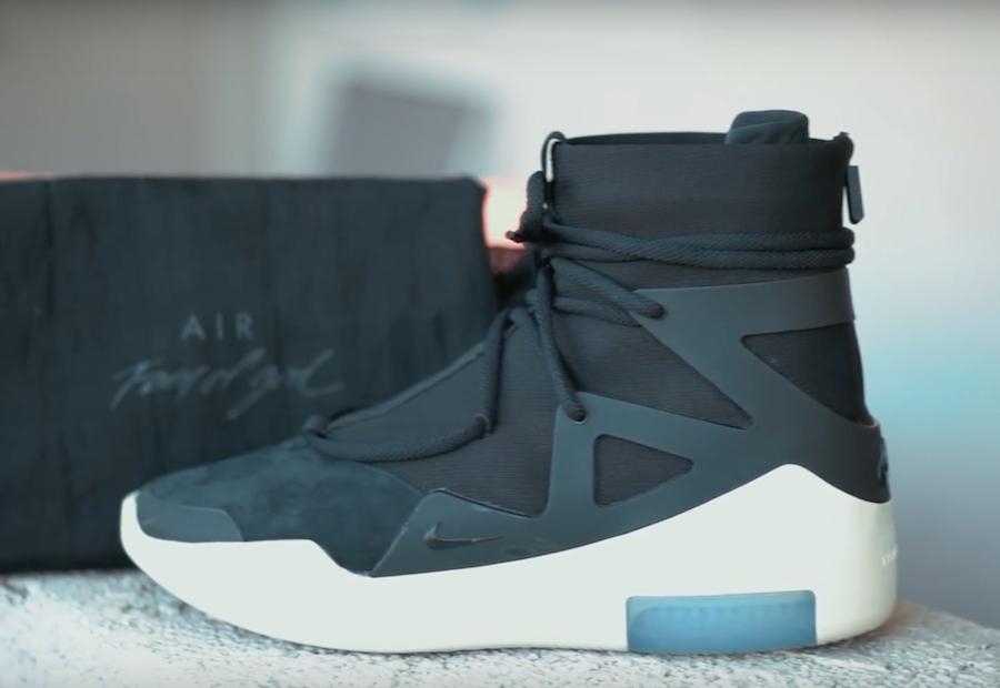 Nike Air Fear Of God 1 Black Ar4237 001 Release Date Splurjjmag