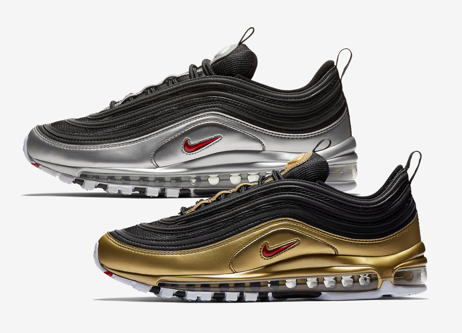 Shoes. Nike Air Max 97 Metallic Pack AT5458-001 AT5458-002 Release Date.  Published on 0ed843896