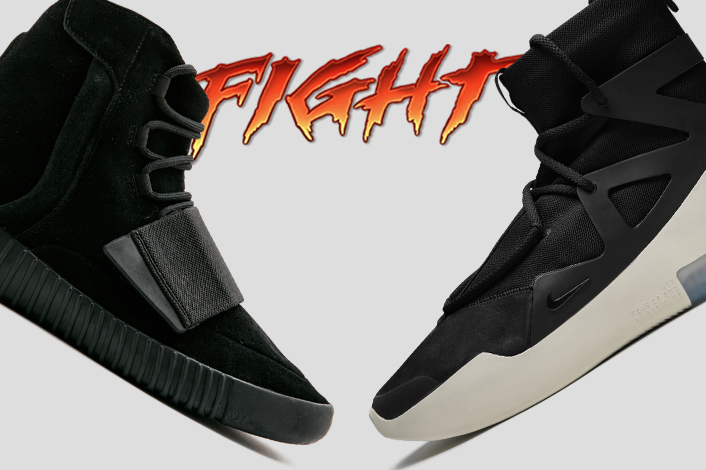 a0329c3768bac adidas Yeezy Boost 750 vs Nike Air Fear of God 1