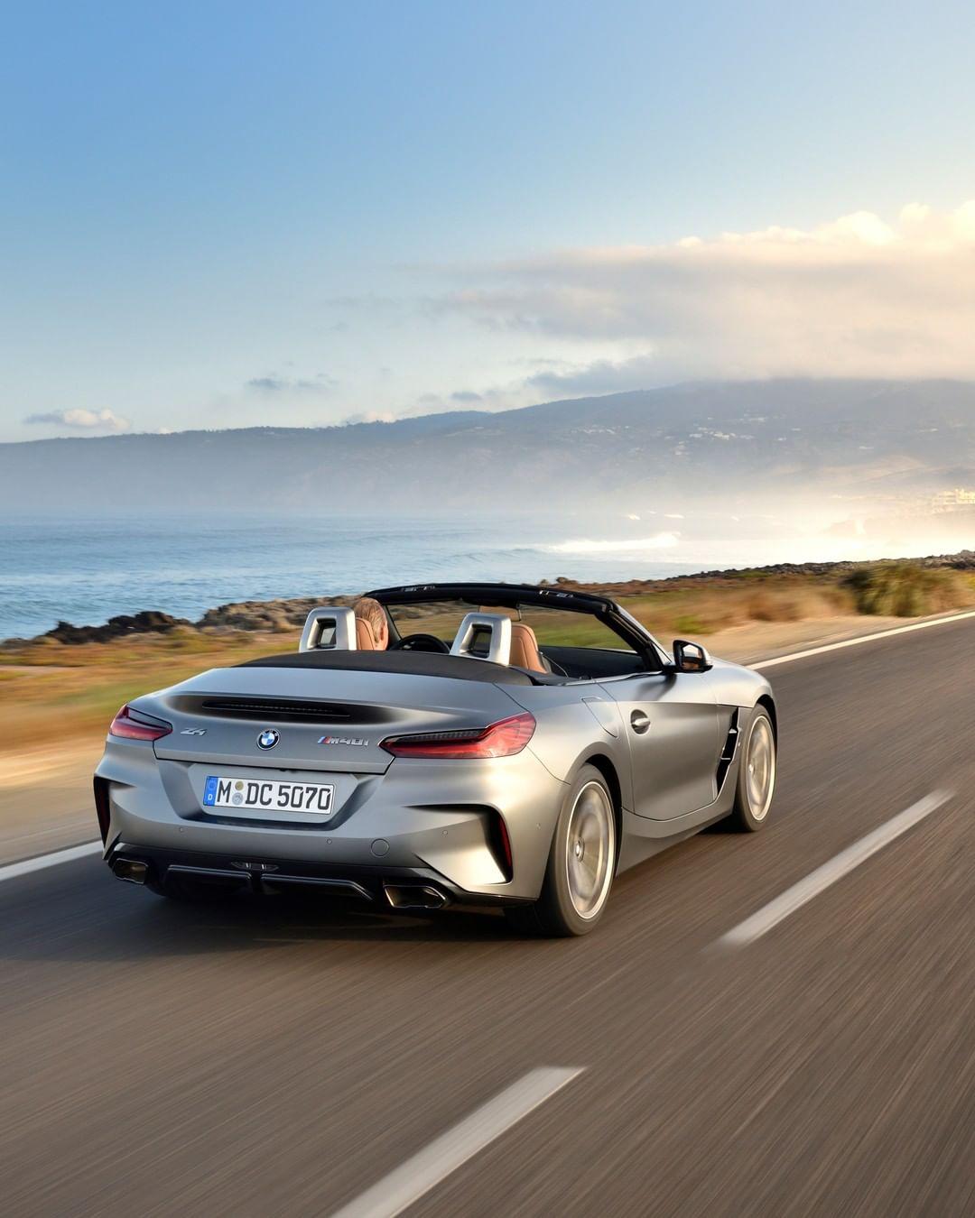 New Bmw Z4: Unfold Your Freedom. The All-new BMW Z4. __ BMW Z4 M40i