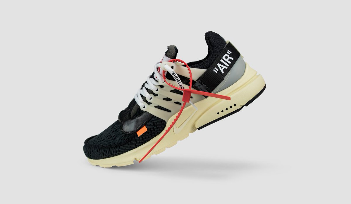 huge selection of e6b07 13eb7 Virgil Abloh s interpretation of the Presto silhouette is available ...