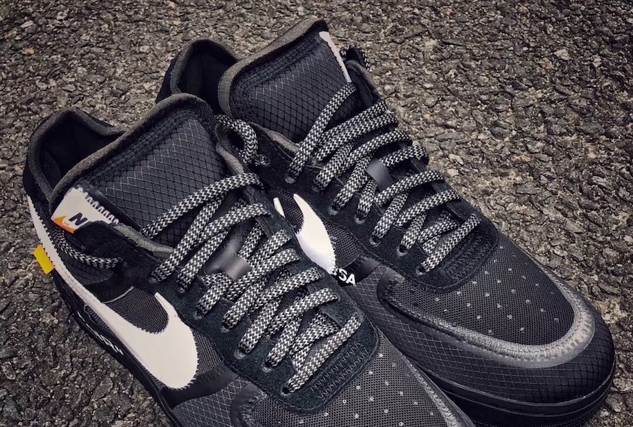 online retailer ce51a 947dd Off-White Nike Air Force 1 Low Black AO4606-001 Release Date ...