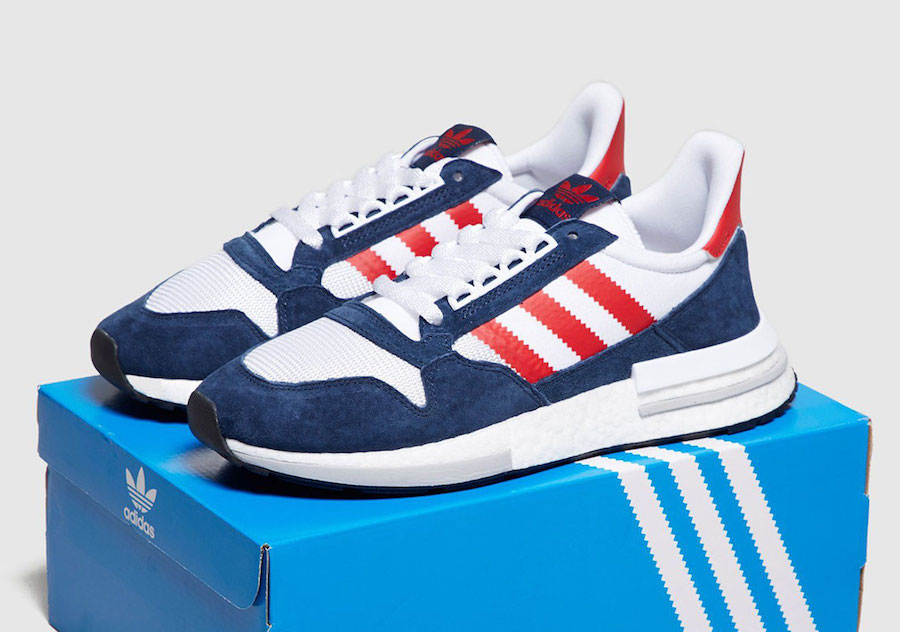 adidas originals zx 500 rm trainers in white
