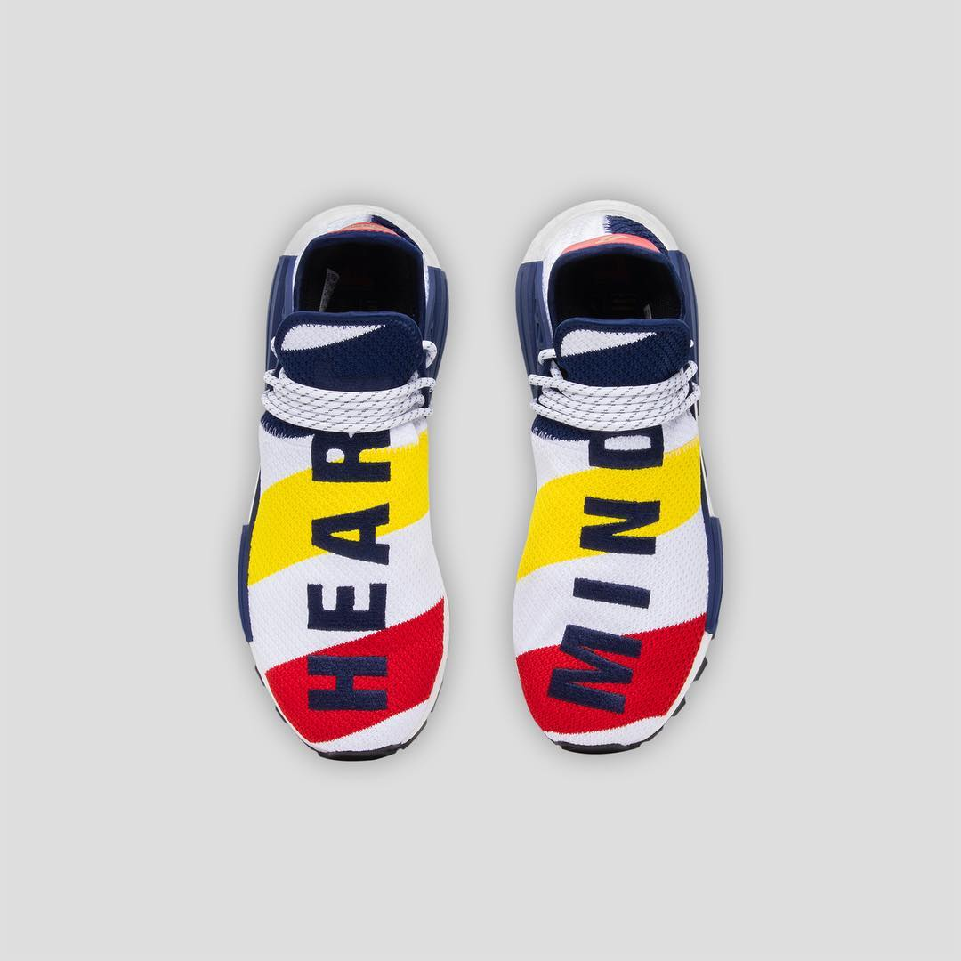 sale retailer be88b 37186 Pharrell ties in Billionaire Boys Club with this NMD Human ...