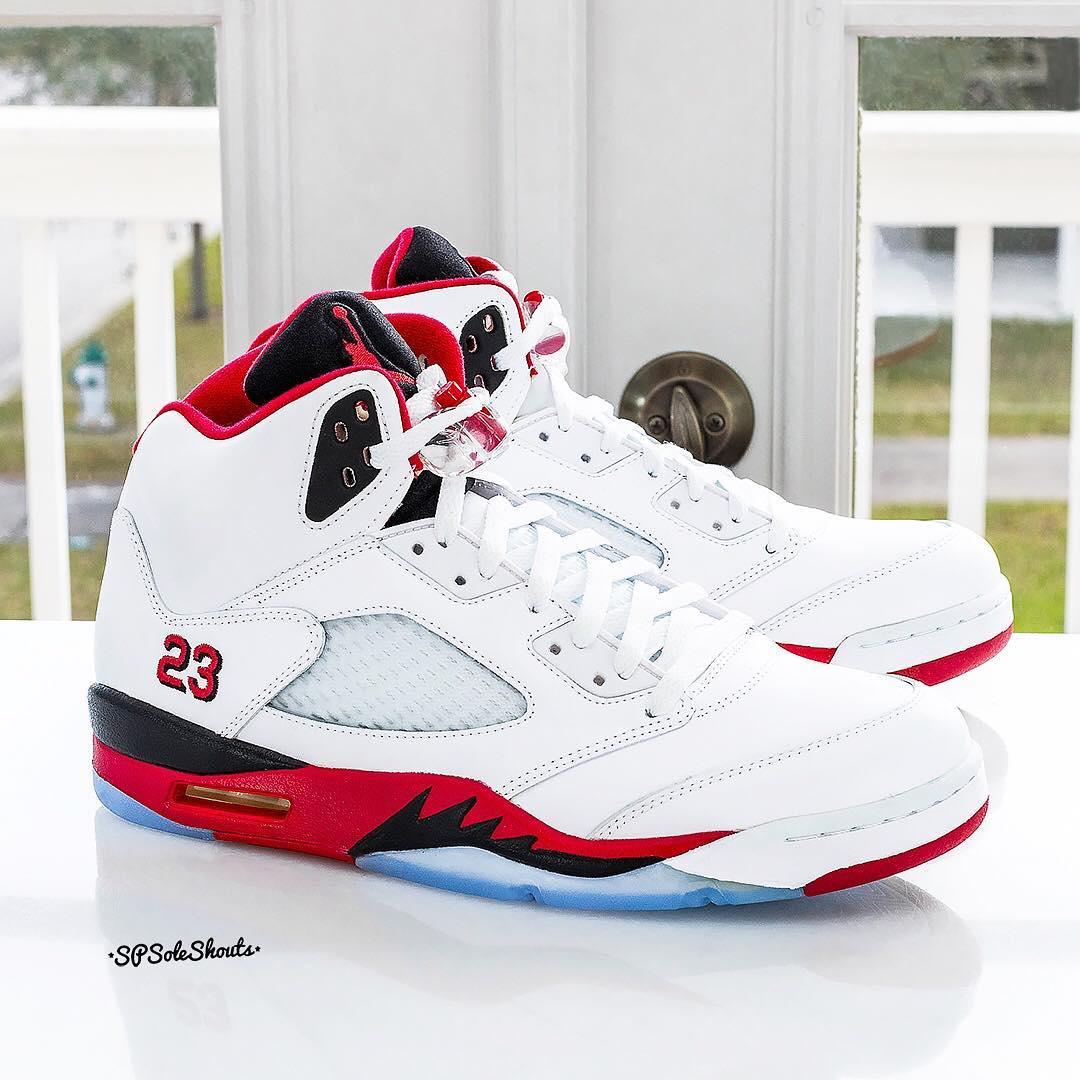 "Air Jordan [5] V ""Fire Red""Sole"