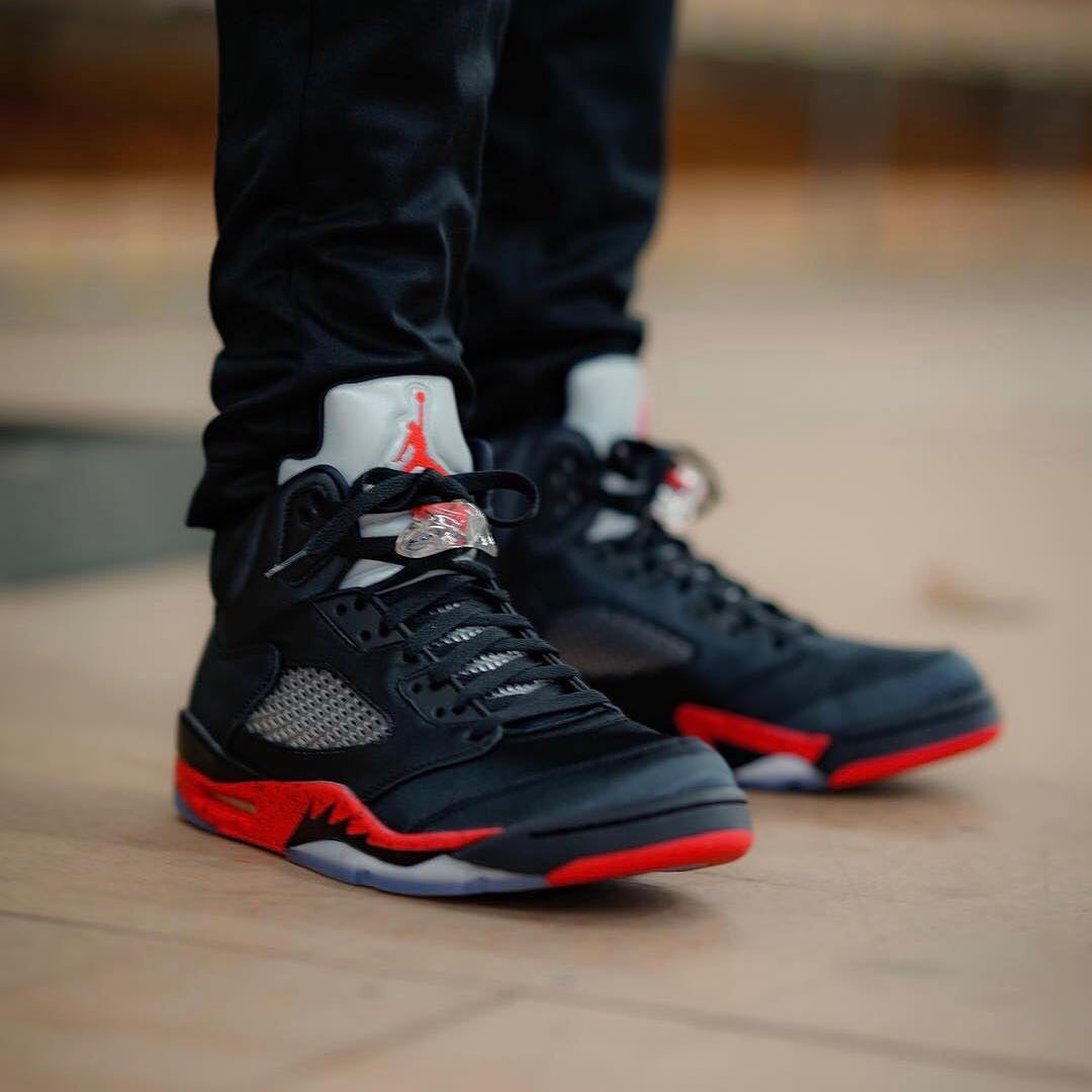 "Air Jordan [5] V ""Satin"" On Feet | Nov"