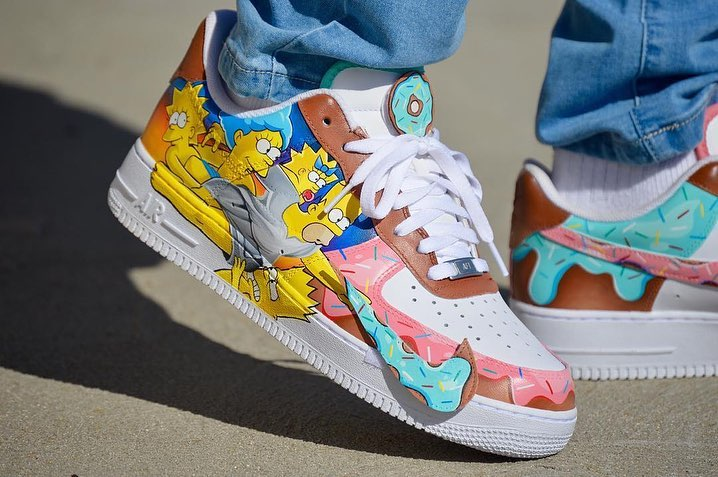 air force 1 simpsons