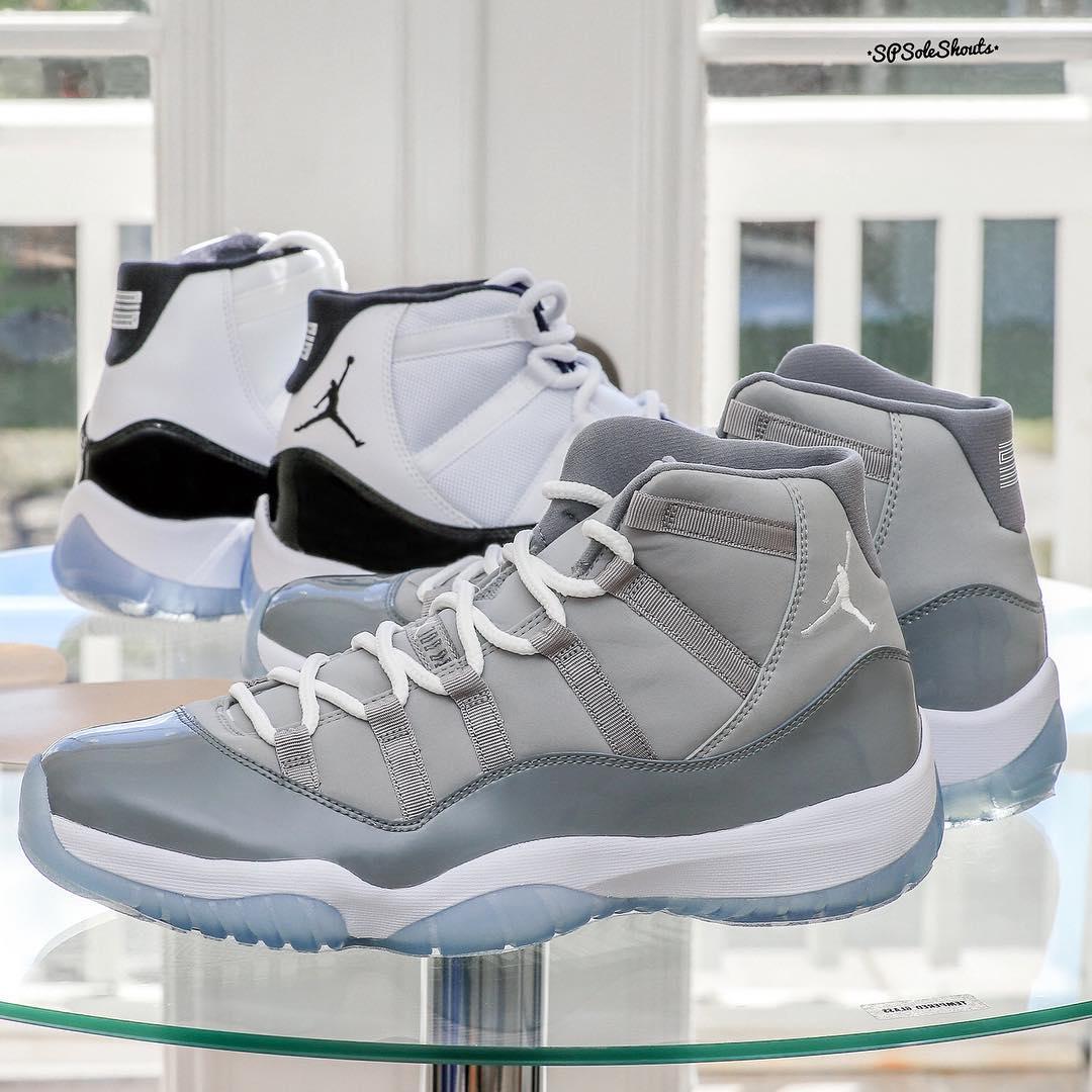 """Air Jordan [11] XI """"Cool Grey""""Air"""
