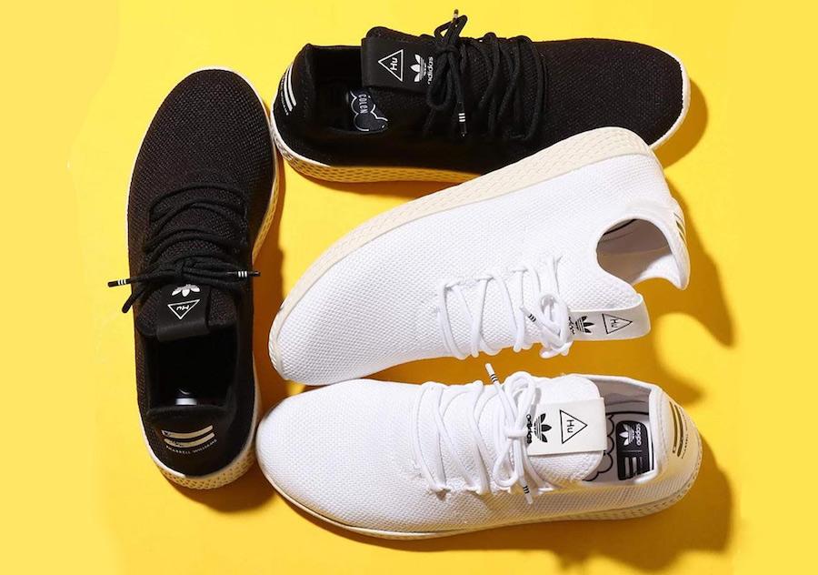 adidas Pharrell Tennis Hu Black AQ1056