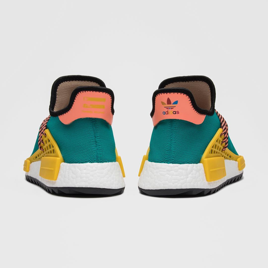 hot sales 24751 5fb36 This colorful rendition of the Pharrell x NMD Trail 'Human ...