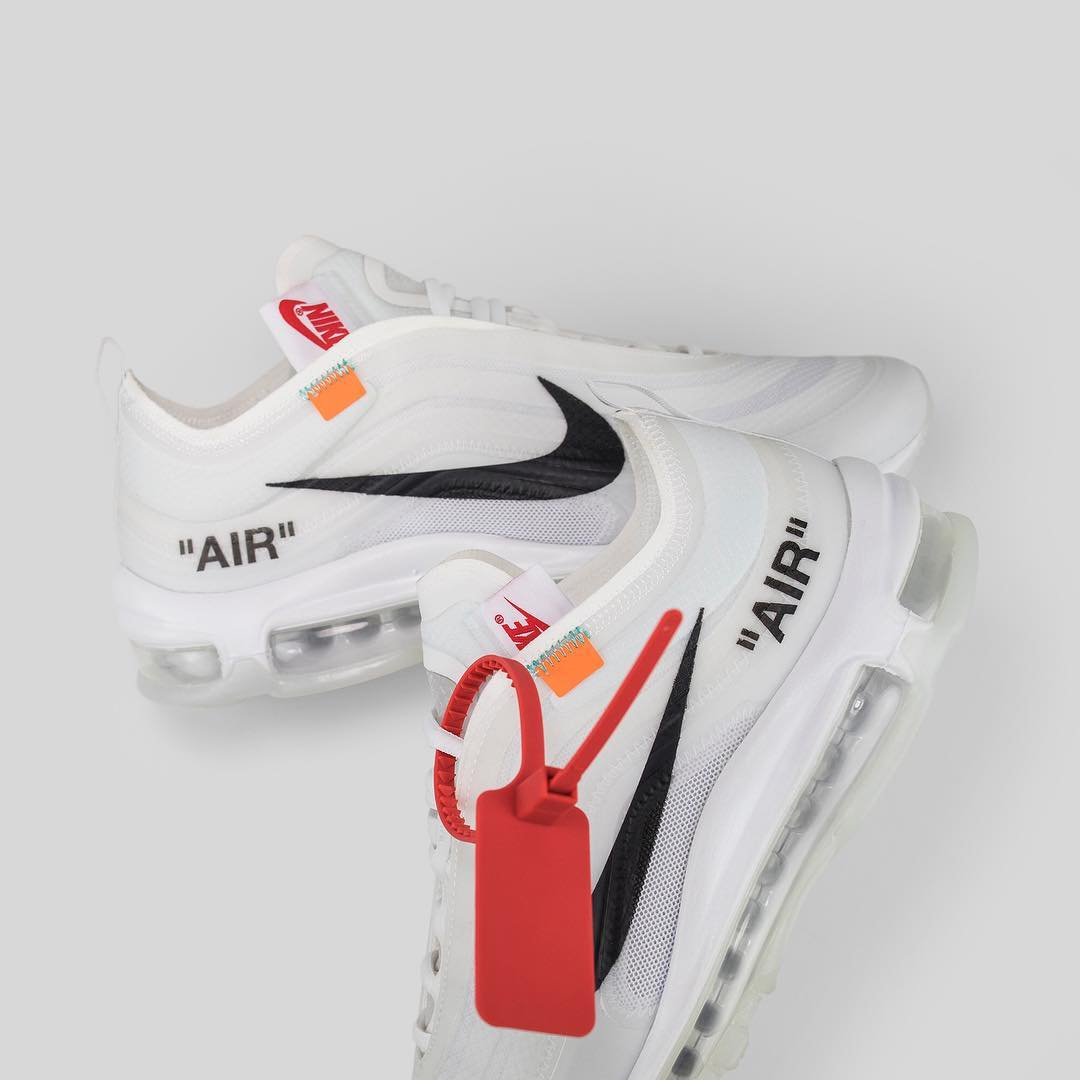 Virgil's interpretation of the Air Max 97 is available on
