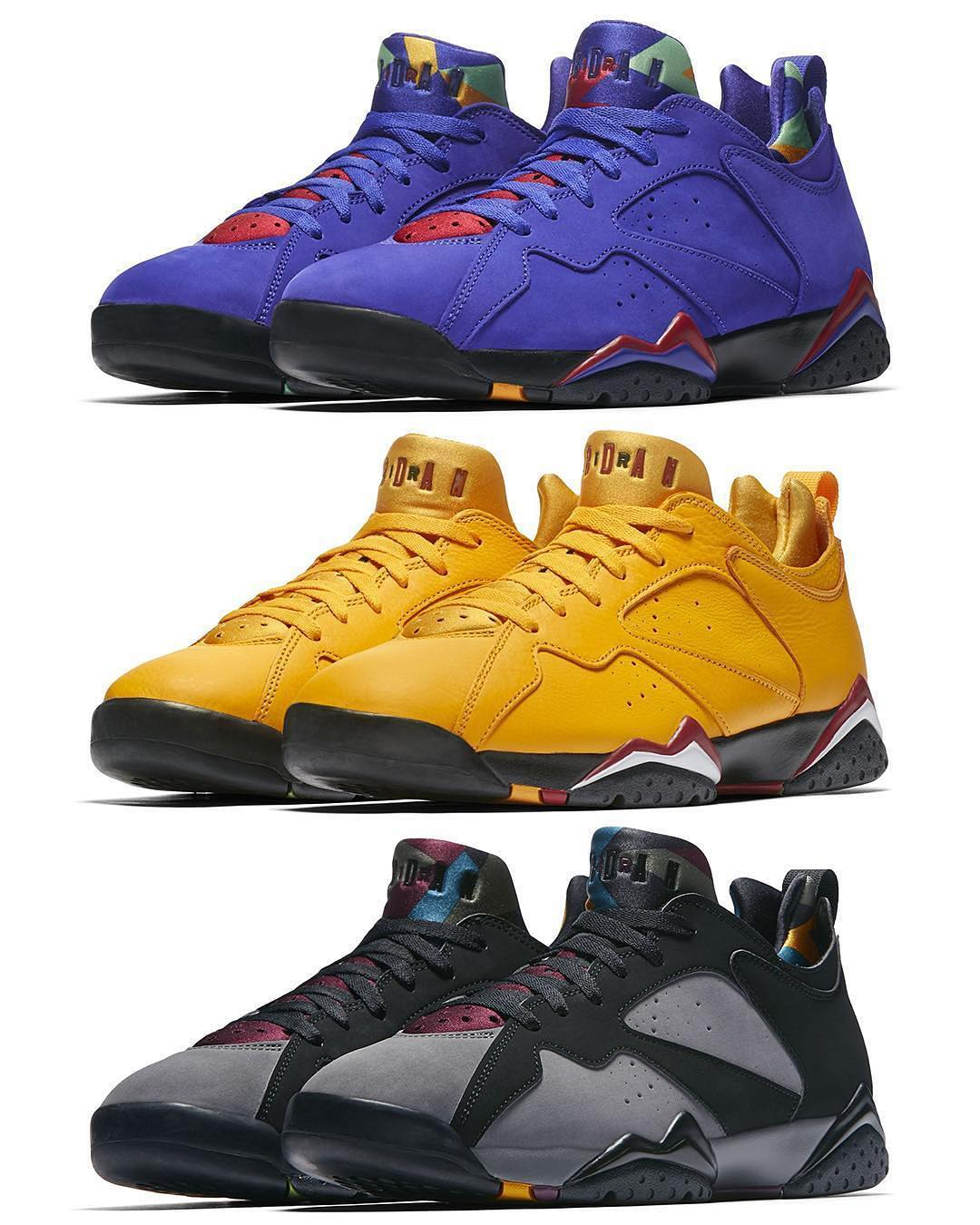 newest 811fb dcd16 Three Air Jordan 7 Low NRG Colorways Rumored To Release In ...