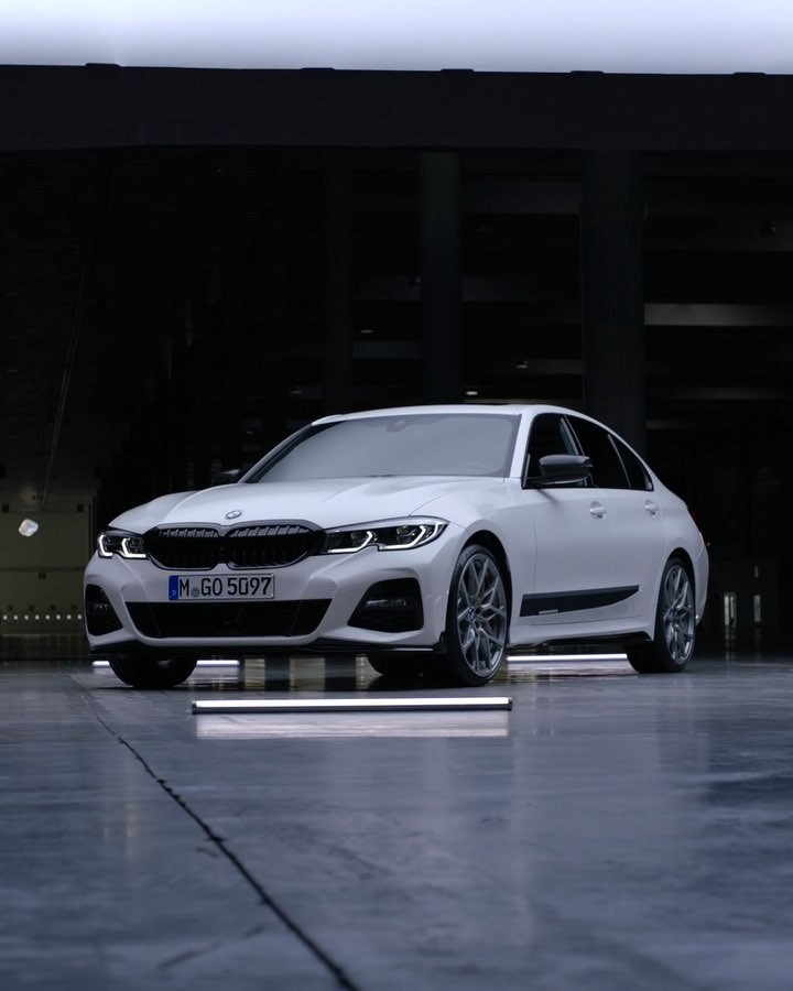 Spiced Up The All New Bmw 3 Series Sedan With M Performance Parts