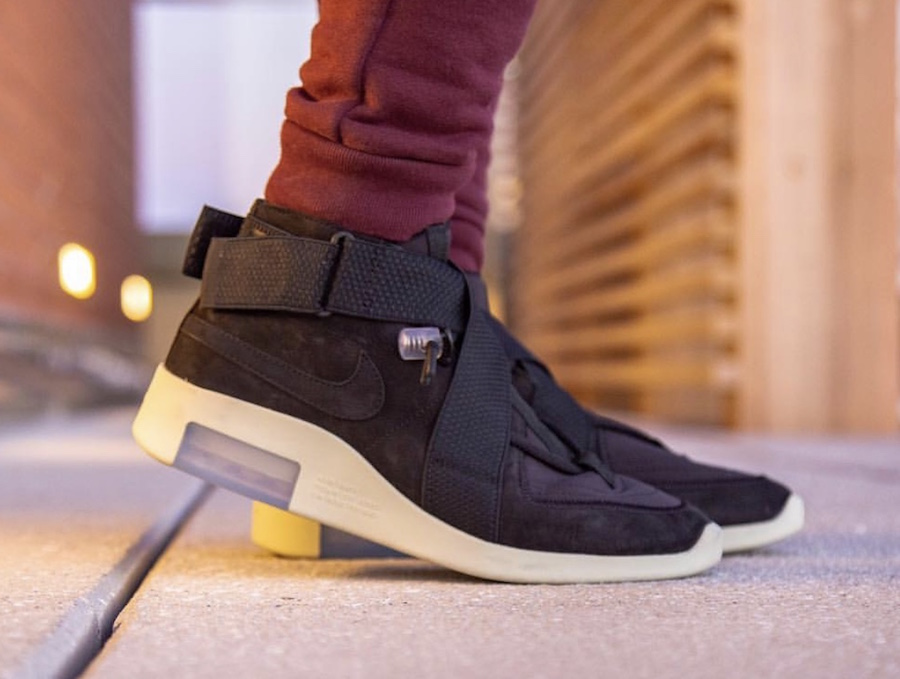 Nike Air Fear of God 180 Black Release