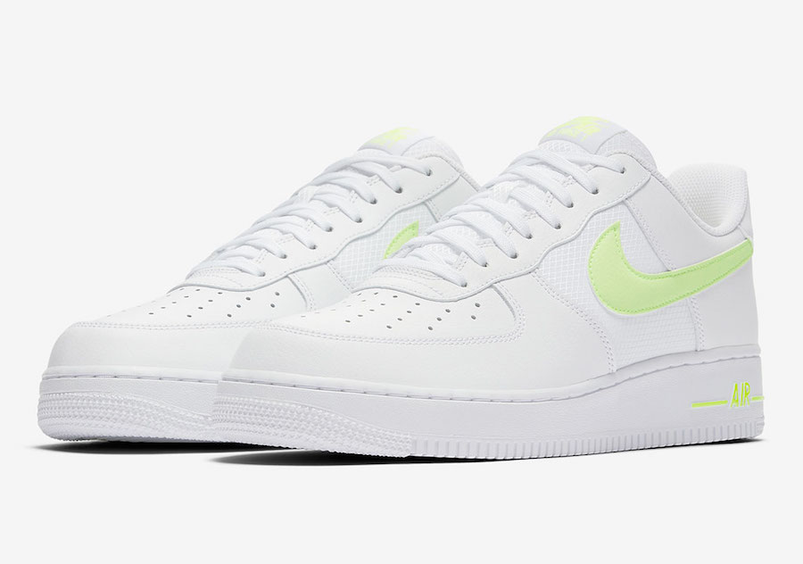 Nike Air Force 1 Low White Volt CD1516