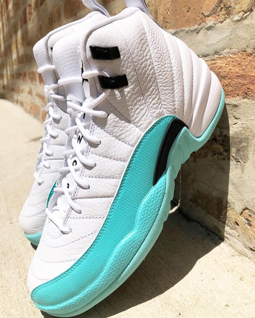 "newest e2212 58fb8 Air Jordan 12 GS ""Light Aqua"" 
