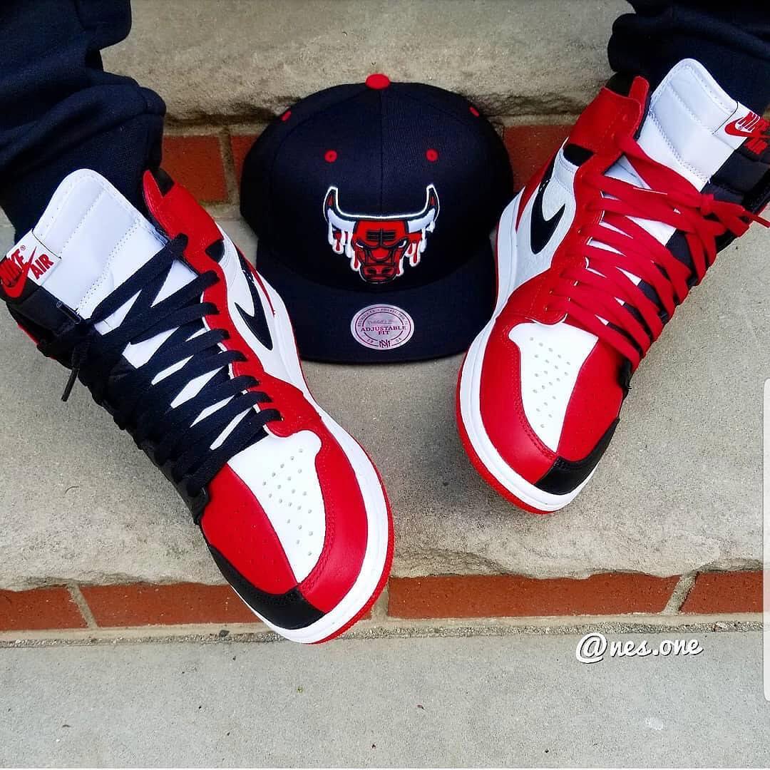 "innovative design f1fe6 ed69b Air Jordan 1 ""Homage To Home"" On Feet May 19th | $160 Via ..."