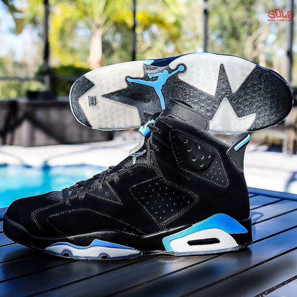 """Nike Air Jordan [6] VI """"UNC"""" Equipped"""