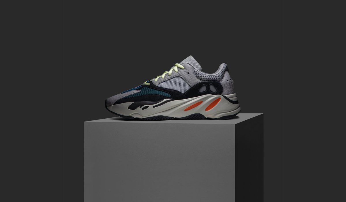 detailed look 373d6 d54bf This first colorway of the Yeezy Boost 700 'Wave Runner ...