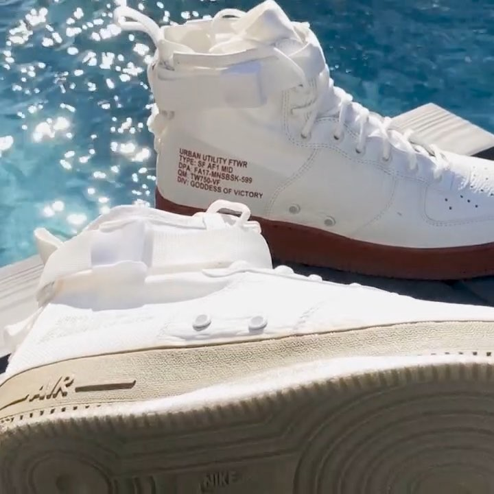 Nike Air Force 1s Equipped With Sole
