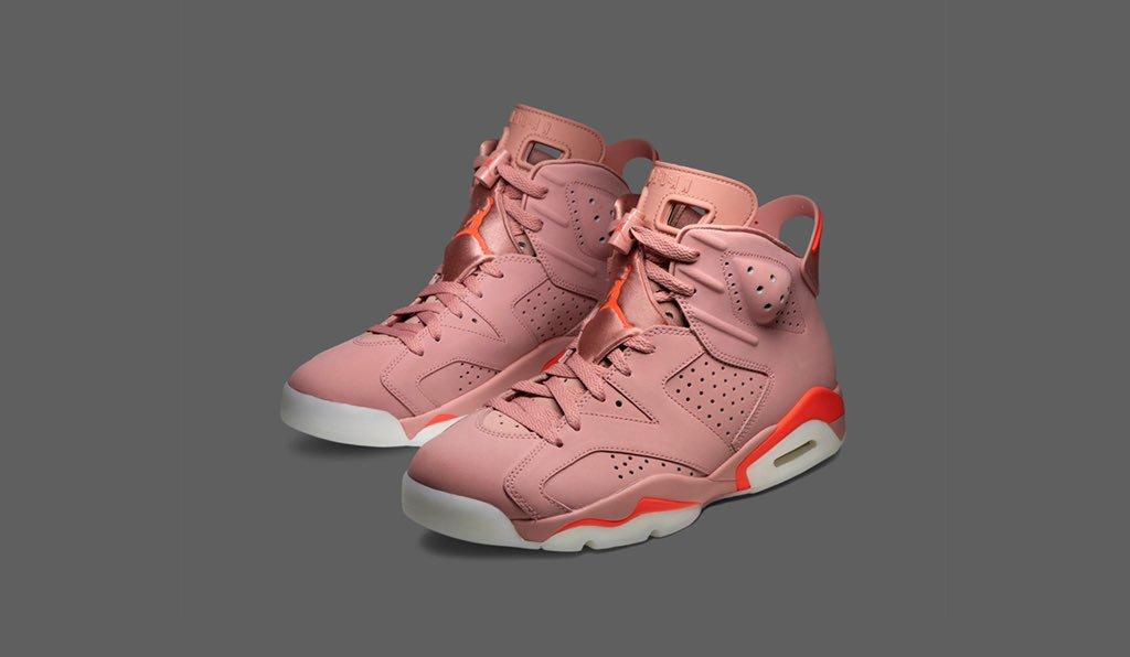 new product 15d51 1122d The Aleali May x Wmns Air Jordan 6 'Millennial Pink' tells ...