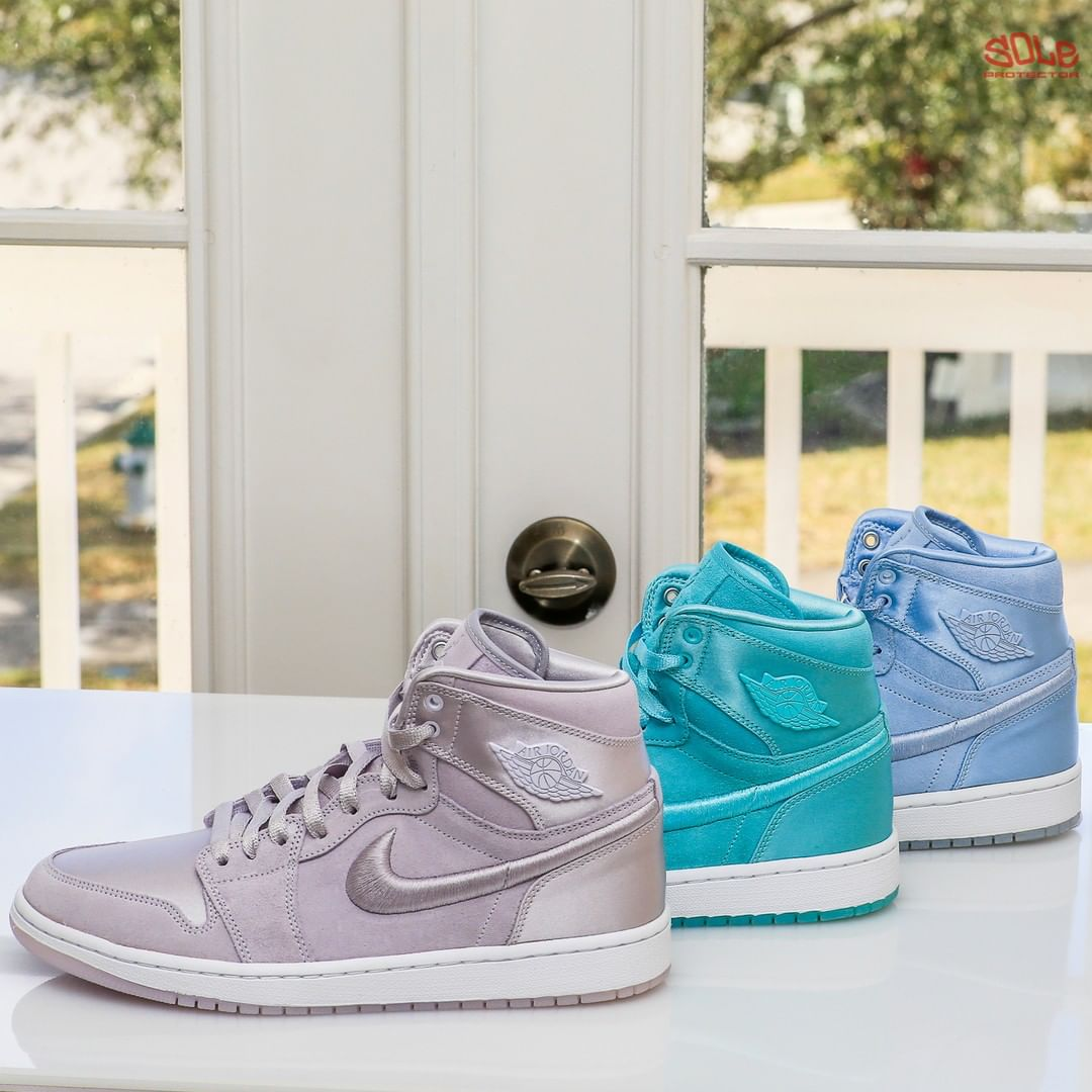 "classic fit 2e55e 7c66d Air Jordan 1 SOH ""Barely Grape""""Light Aqua"" ""Hydrogen Blue ..."